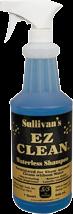 Sullivan's EZ Clean Waterless Shampoo product image.