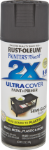 Rust-Oleum® Painter'S Touch® Ultra Cover Spray Paint 12 oz., double the coverage. Assorted colors and finishes. product image.