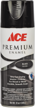 Ace Premium Spray Paint, 12 Oz. Assorted colors and finishes. product image.
