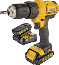 DeWalt® 20 Volt Max Cordless Compact Impact Driver 2492577 Limit 4 at this price. DeWalt® 20 Volt Max Cordless Compact Drill/Driver Kit Includes 2 lithium-ion batteries and contractor bag. 2385458 Limit 4 at this price. product image.