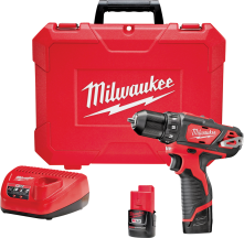 Milwaukee® M12 Cordless Drill/Driver Kit   (2393353) product image.