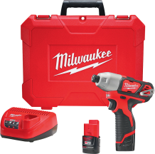 Milwaukee® M12 Cordless Impact Driver Kit   (2393361) product image.