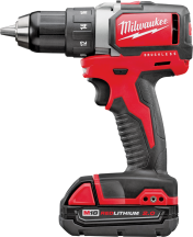 Milwaukee® M18 Compact Cordless Drill/Driver Kit   (2423242) product image.