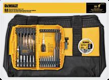 DeWalt® 64 Pc. Drill Bit Set   (2567717) product image.
