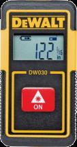 DeWalt® 30' Laser Tape Measure (2567865) OR 30' Fat Max Tape Rule Contractor grade Plastic case with rubber non-slip grip Belt hook (2107688) product image.