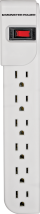Monster 6-Outlet Power Strip   (3492428) product image.