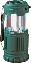 Nebo® Poppy™ Lantern/Spotlight Easily changes from spot light to later with just a slide of its top. 3787025 product image.