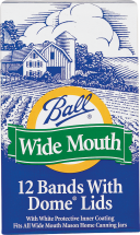 Ball® Regular Mouth Jar Lids, Bx/12 product image.