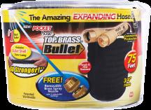 75' Pocket Hose™ Top Brass® Bullet™ (6292312) 100' 6388284...$49.99 product image.