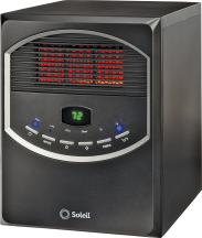 Infrared Radiant Heater Remote control, 3 temp settings. 6399026 product image.