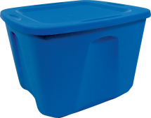 18 Gal. Tote 6502561 Limit 4 at this price. Clear 18 Gal. Tote, 6502553...$5.99. Limit 4 at this price. product image.