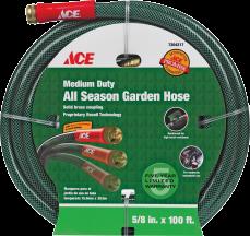 "All Season Garden Hose 5/8"" x 100' Flextech technology (7204217) product image."