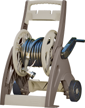"Mobile Hose Reel Cart Holds 175' of 5/8"" hose Sturdy resin construction Fully assembled (7205271) product image."