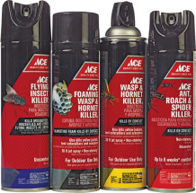 Ace Insect Killer 7415110, 7415128, 7415136, 7415144 product image.