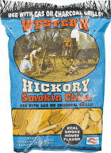 Hickory or Mesquite Chips product image.