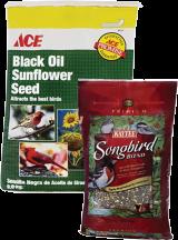 7 Lb. Premium Songbird Seed (81053) Nut and Fruit Wild Bird Food, 5lb (8123820) ACE Wild Bird Food. 20lb (81995 ) product image.