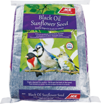 Ace Black Oil Sunflower Seed, 20 Lb. product image.