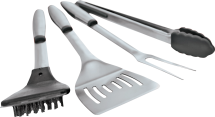 4 Pc. Stainless Steel Grill Tool Set 8370850 product image.
