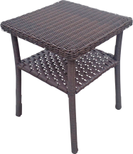 Chesapeake Cushioned Resin Wicker Rocker 8405011 Chesapeake Resin Wicker End Table, 8405052...$34.99 product image.
