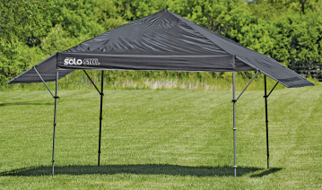 17' x 10' Canopy 2 adjustable 3.5 ' awnings, 170 sq. fl. Of shade, 4 telescoping legs. (8519704) product image.