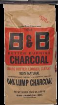 Natural Oak Lump Charcoal, 20Lb. 8684151 product image.